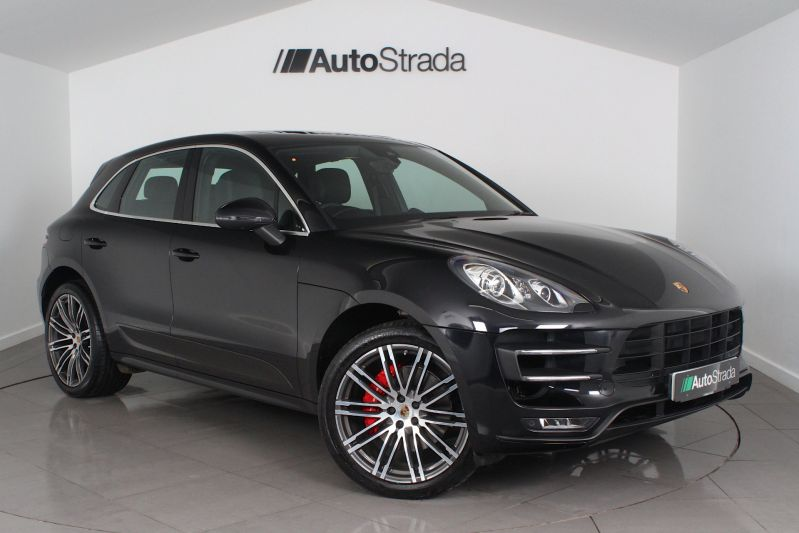 Used Porsche Macan 3 6 Turbo Pdk Suv Black 3 6 4x4 Somerset