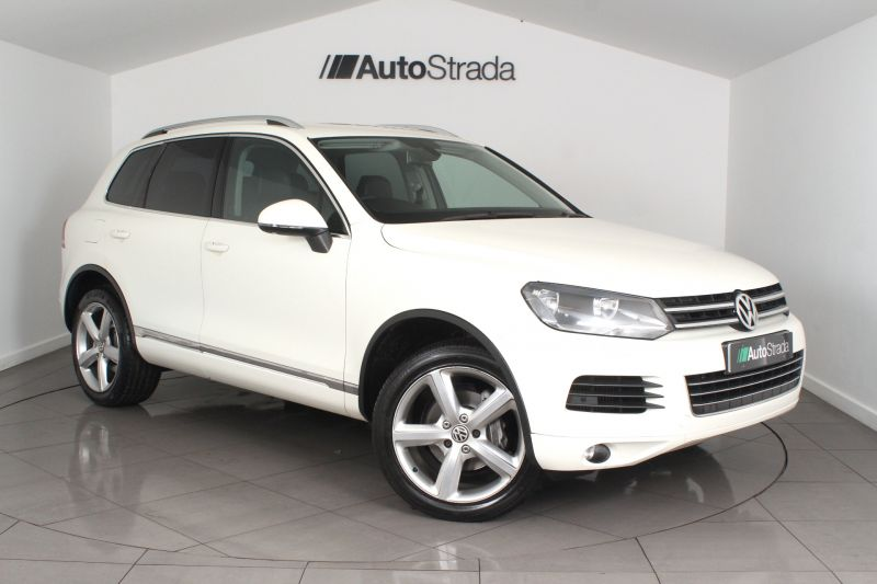 Used VOLKSWAGEN TOUAREG in Somerset for sale